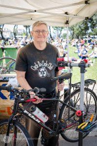Hugh Bike Stall
